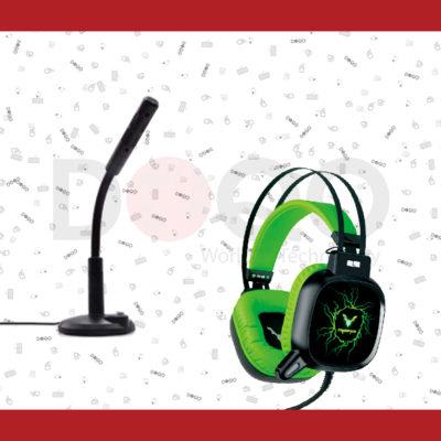 אוזניות רמקולים ומיקרופנים למחשב